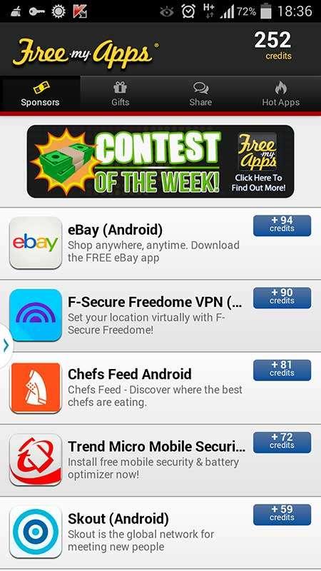 Взлом и хак Free My Apps