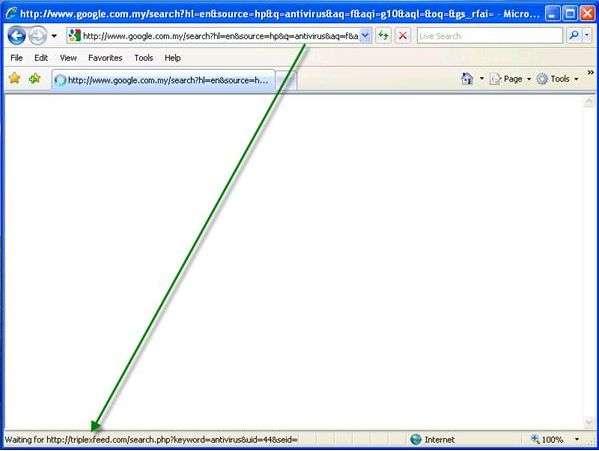 Удаление вируса Browser redirect